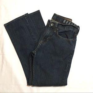 Bullhead Gravels Blue Slim Straight Leg Jeans 29